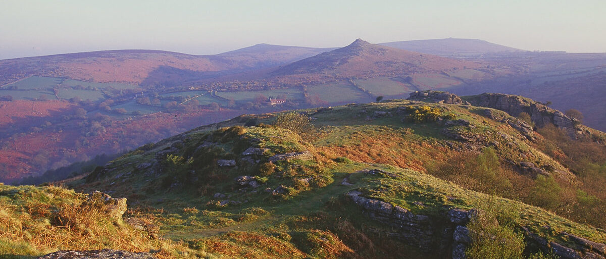 View from Bench Tor to Sharp Tor - Copyright Natural England Paul Glendell