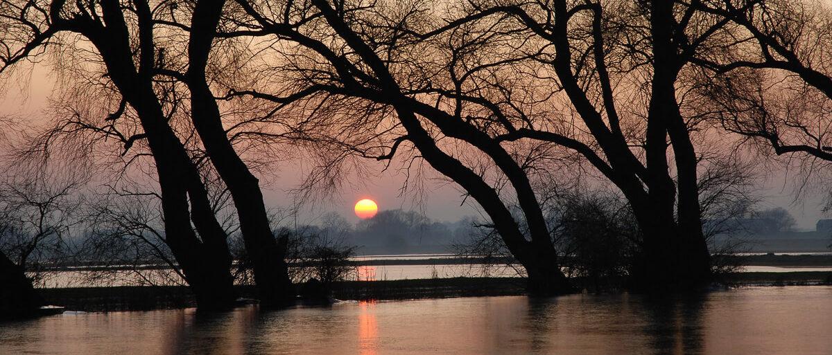 Winter flooding - Copyright Natural England Peter Roworth
